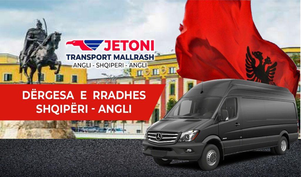 Transport Mallrash Shqiperi Angli